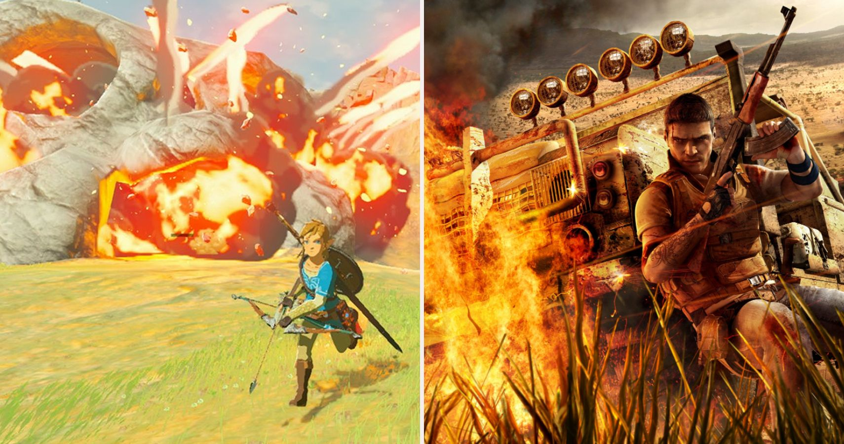 15 Mechanics Breath Of The Wild Copies From Other Games