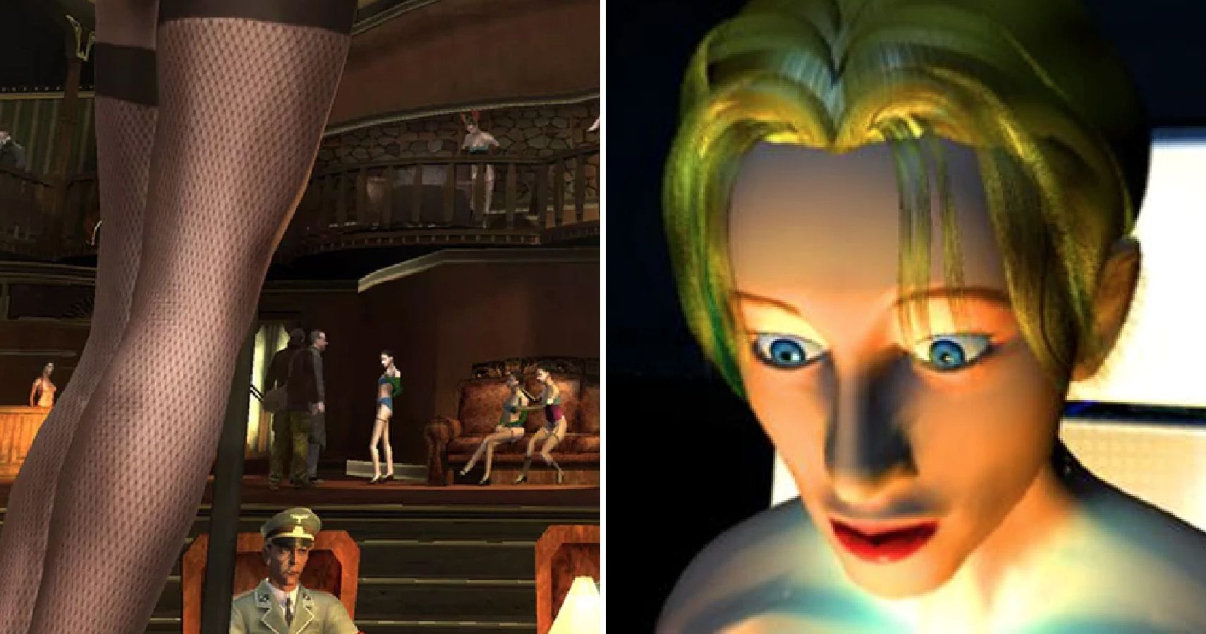 Video Games That Have Hidden Characters Who Bare It All