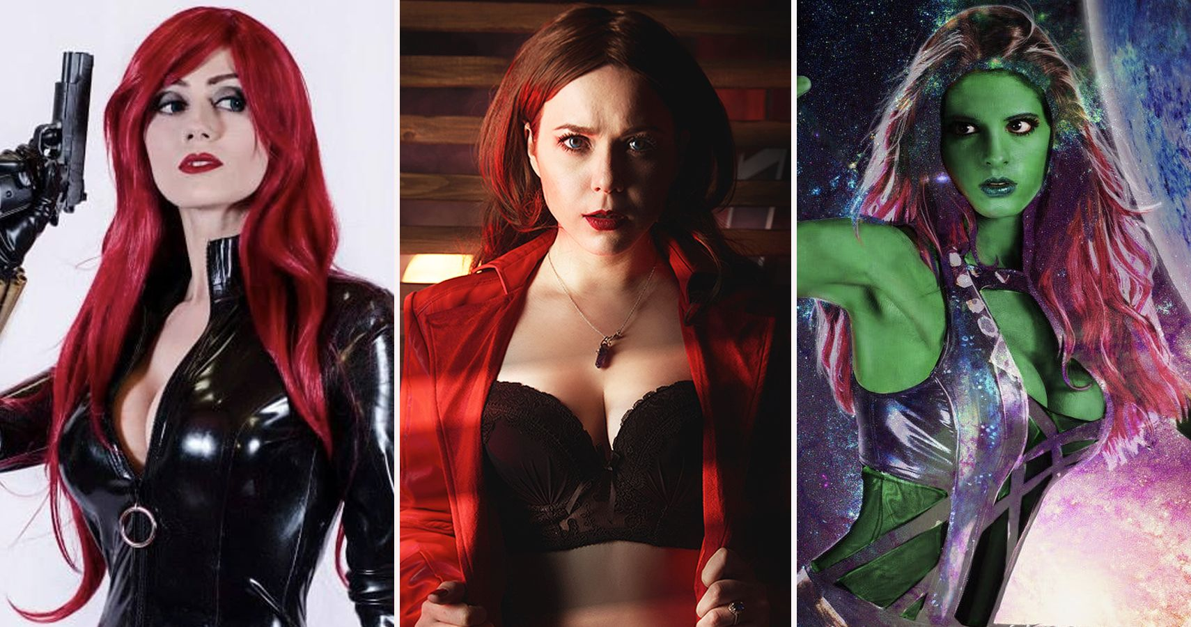 Golden age redhead superheroine — img 8