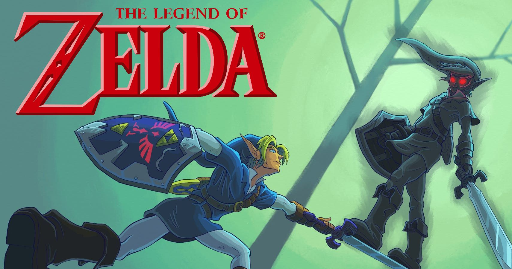 Pure Evil Things Dark Link Can Do That The Hero Of Time Can T