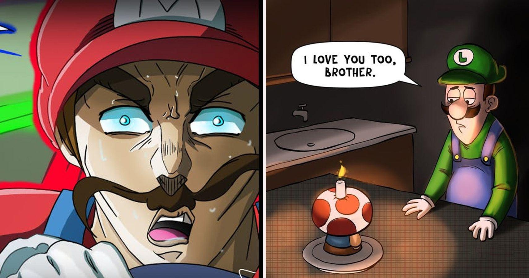 Plumber Wars Hilarious Mario Vs Luigi Memes Thegamer