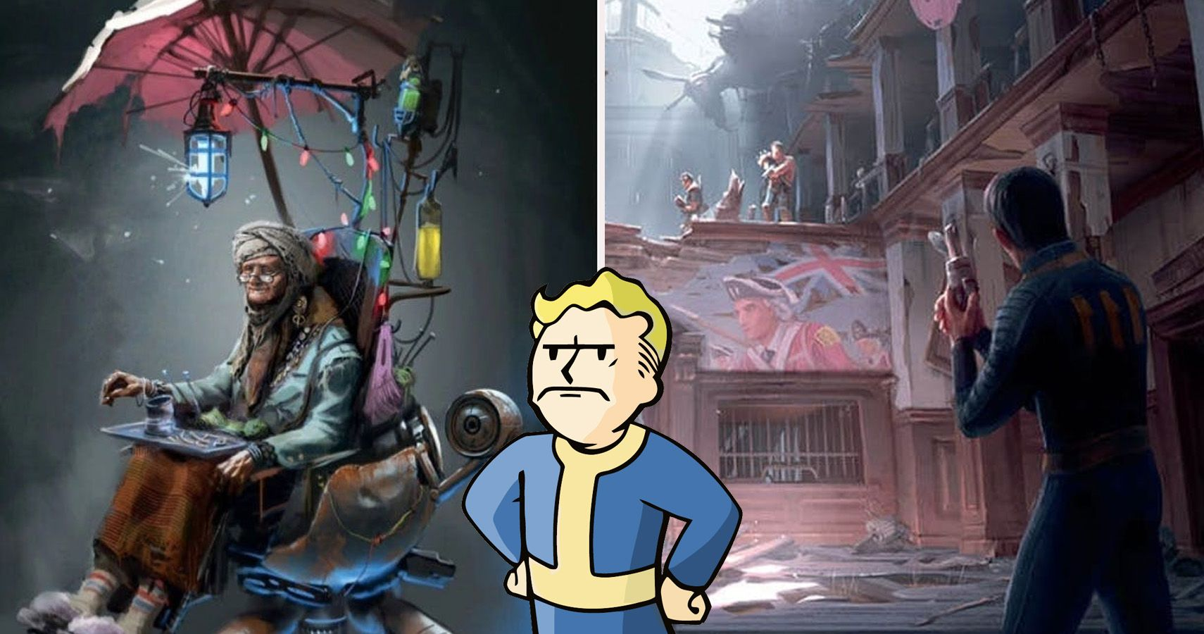 Lowered Expectations 20 Fallout 4 Concept Artworks That