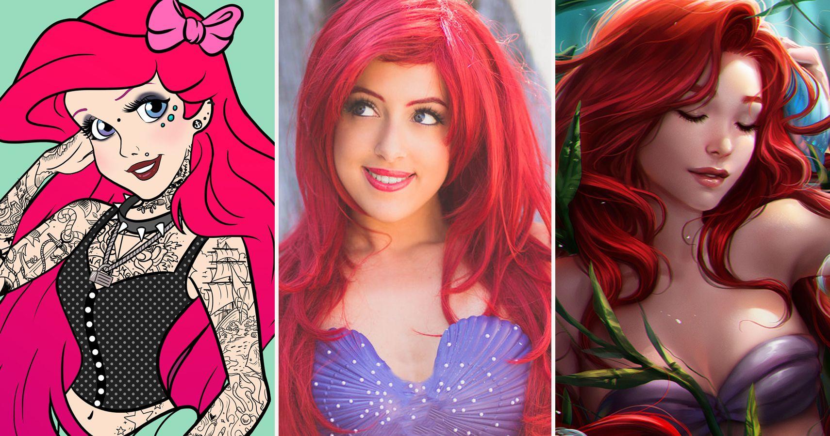 Hottest redhead girl ariel