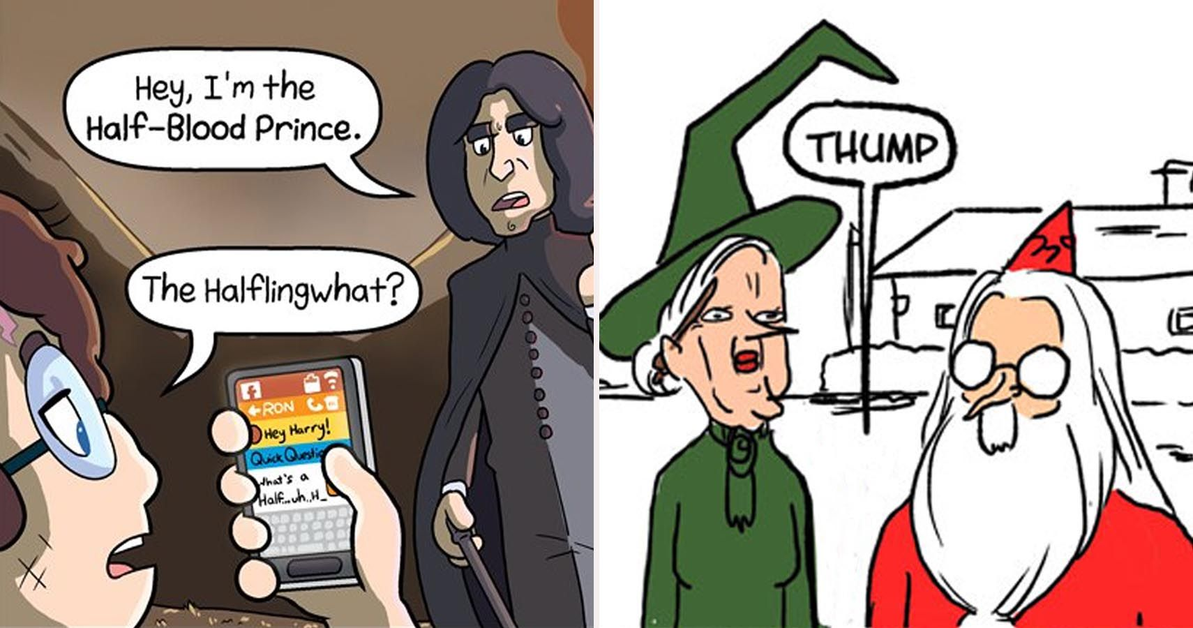 30 Hilarious Harry Potter Fan Comics That Will Make Fans Question