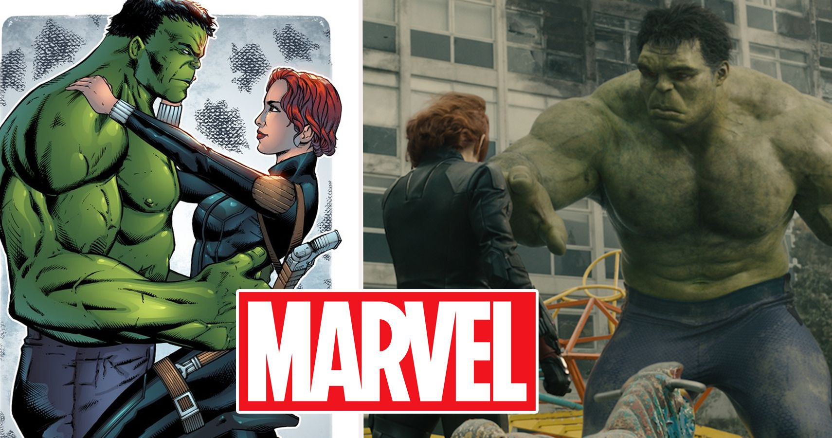 Marvel: 20 Weird Facts About Black Widow And The Hulk's