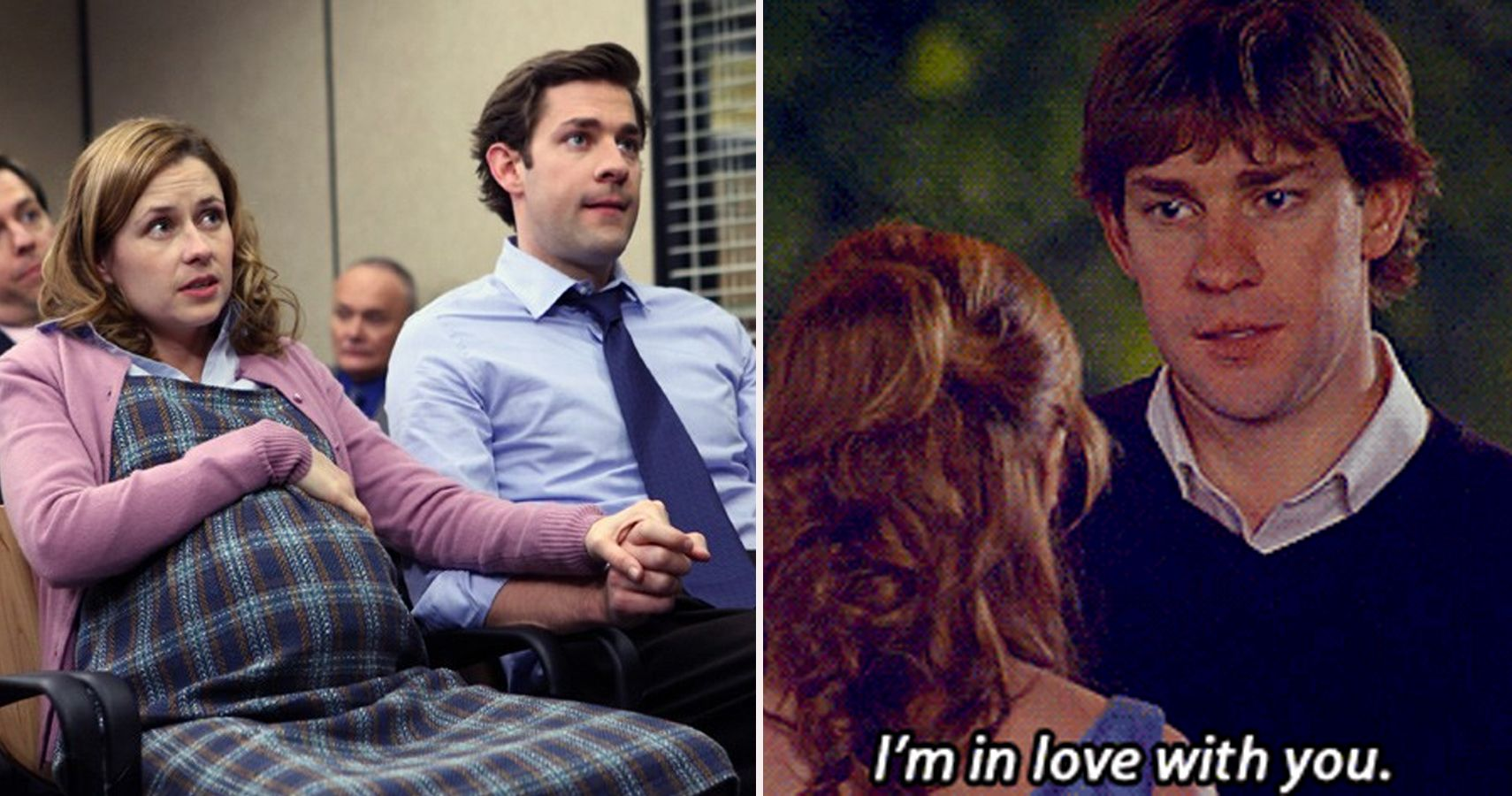 do jim and pam dating in real life