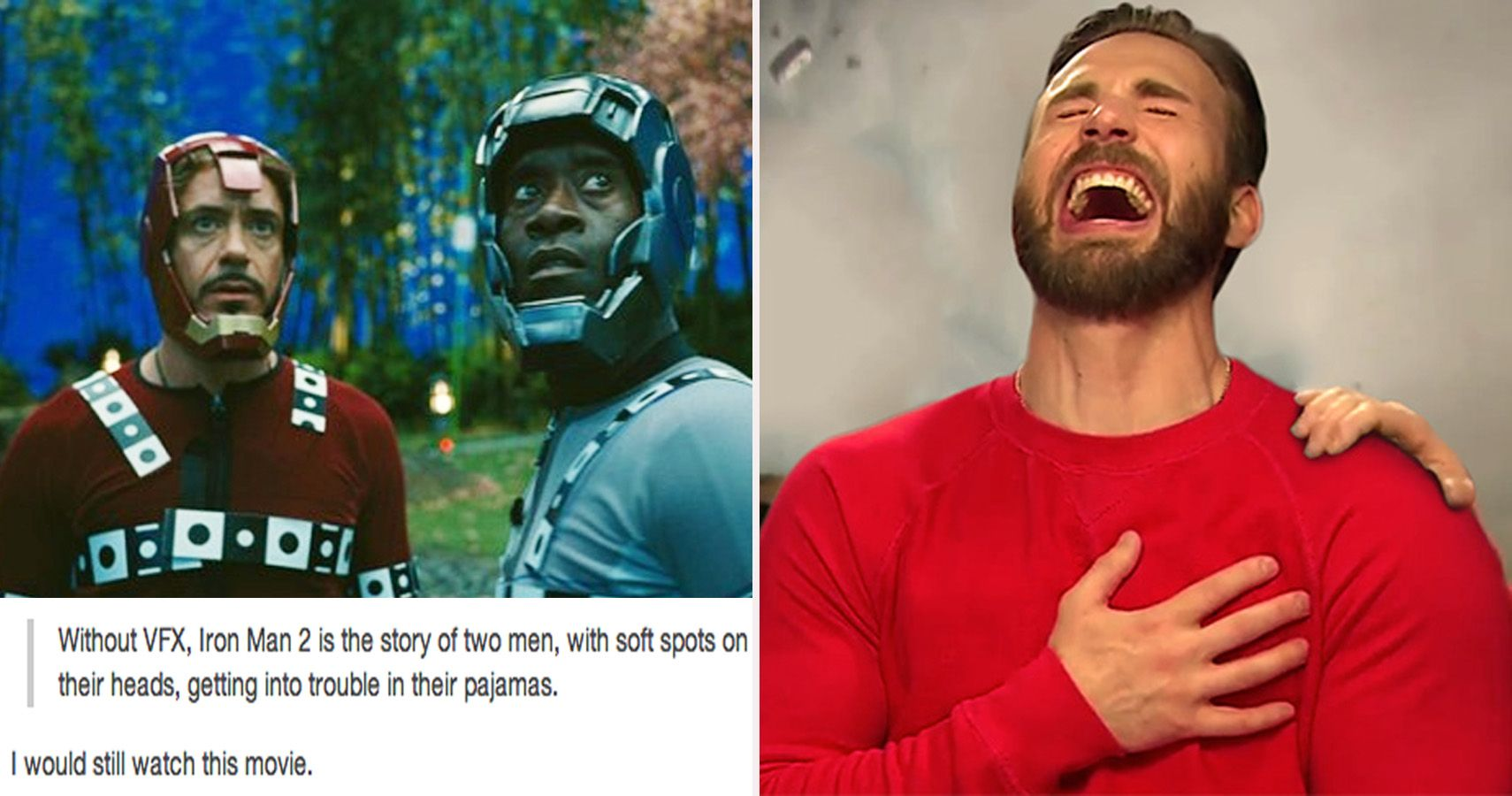 28 Hilarious Tumblr Posts That Make Us Look At Marvel Movies In A