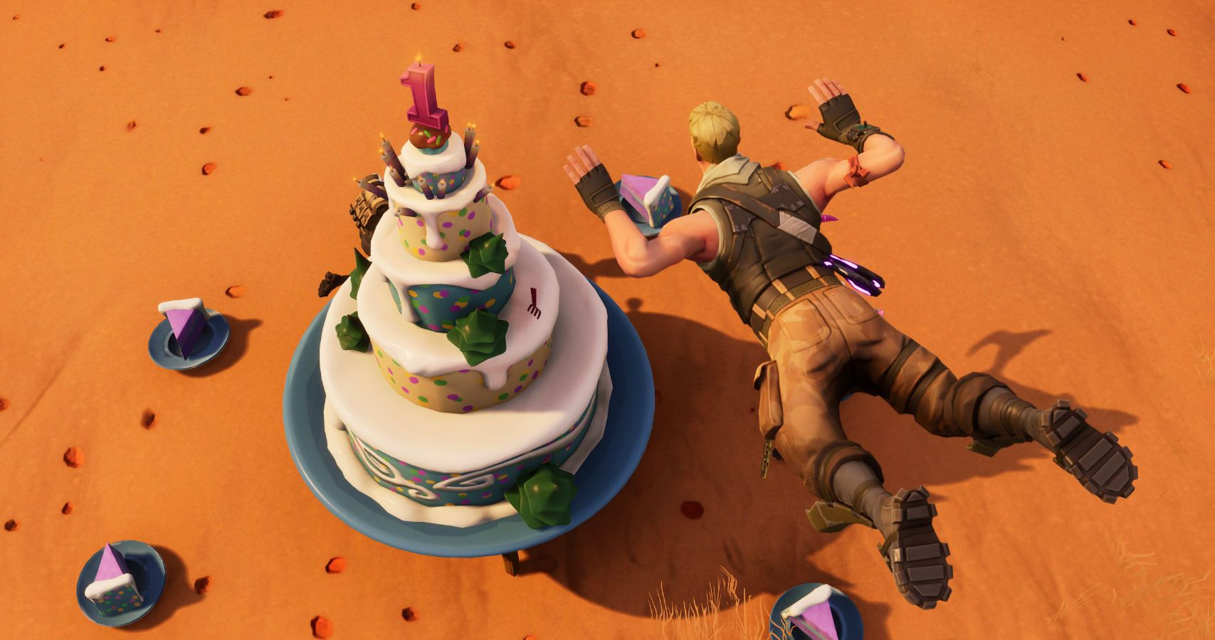 All Ten Locations Of Fortnite's Birthday Cakes Revealed