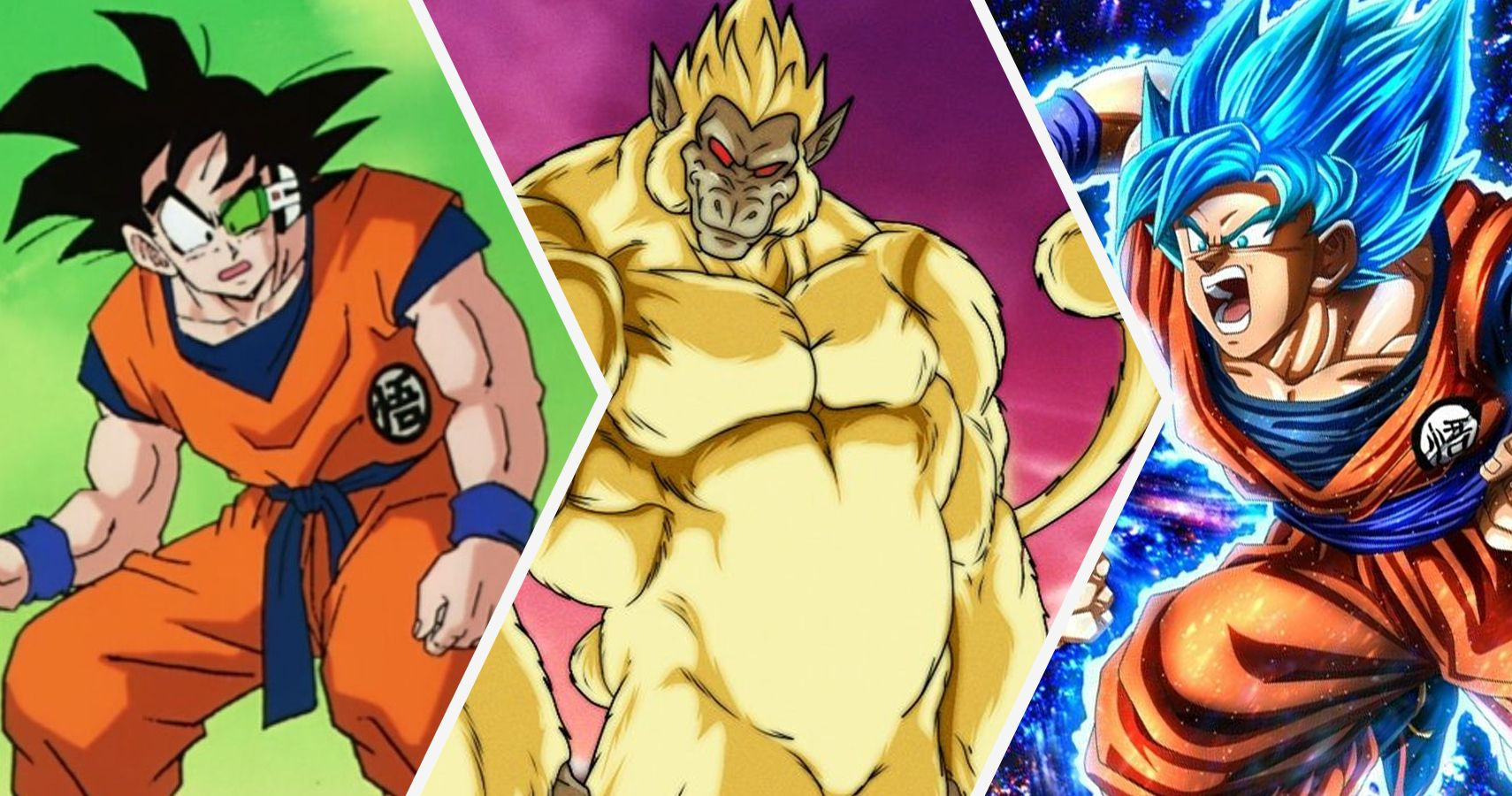 Dragon Ball Z Every Version Of Goku From Weakest To Strongest