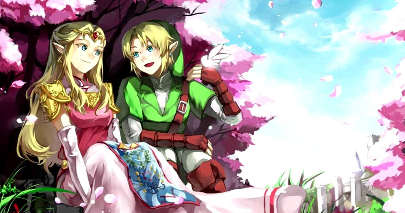 Do link and zelda ever hook up
