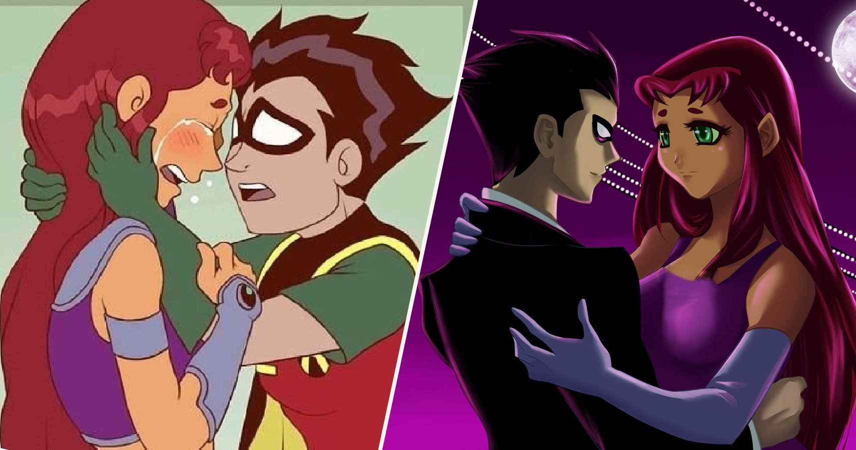 Teen Titans: 25 Crazy Things About Robin And Starfire's