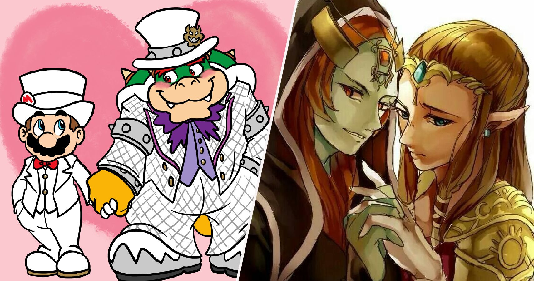 25 Extra Sweet Fan Pictures Of Unexpected Nintendo Couples