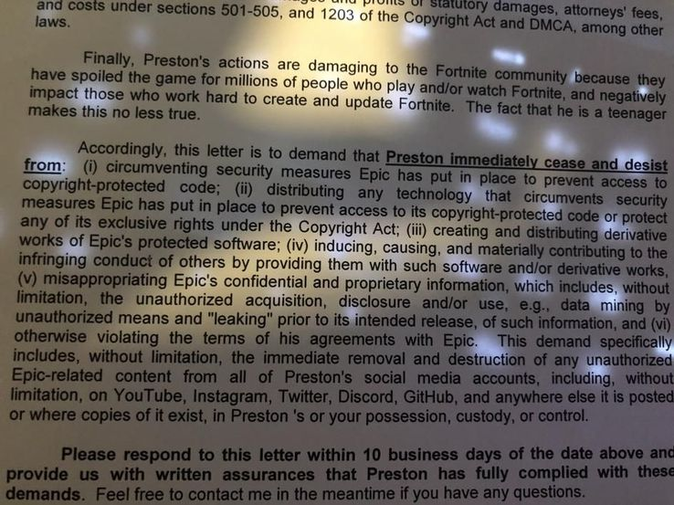 FNBRLeaks, The Fortnite Leaker, Deletes Accounts After Legal