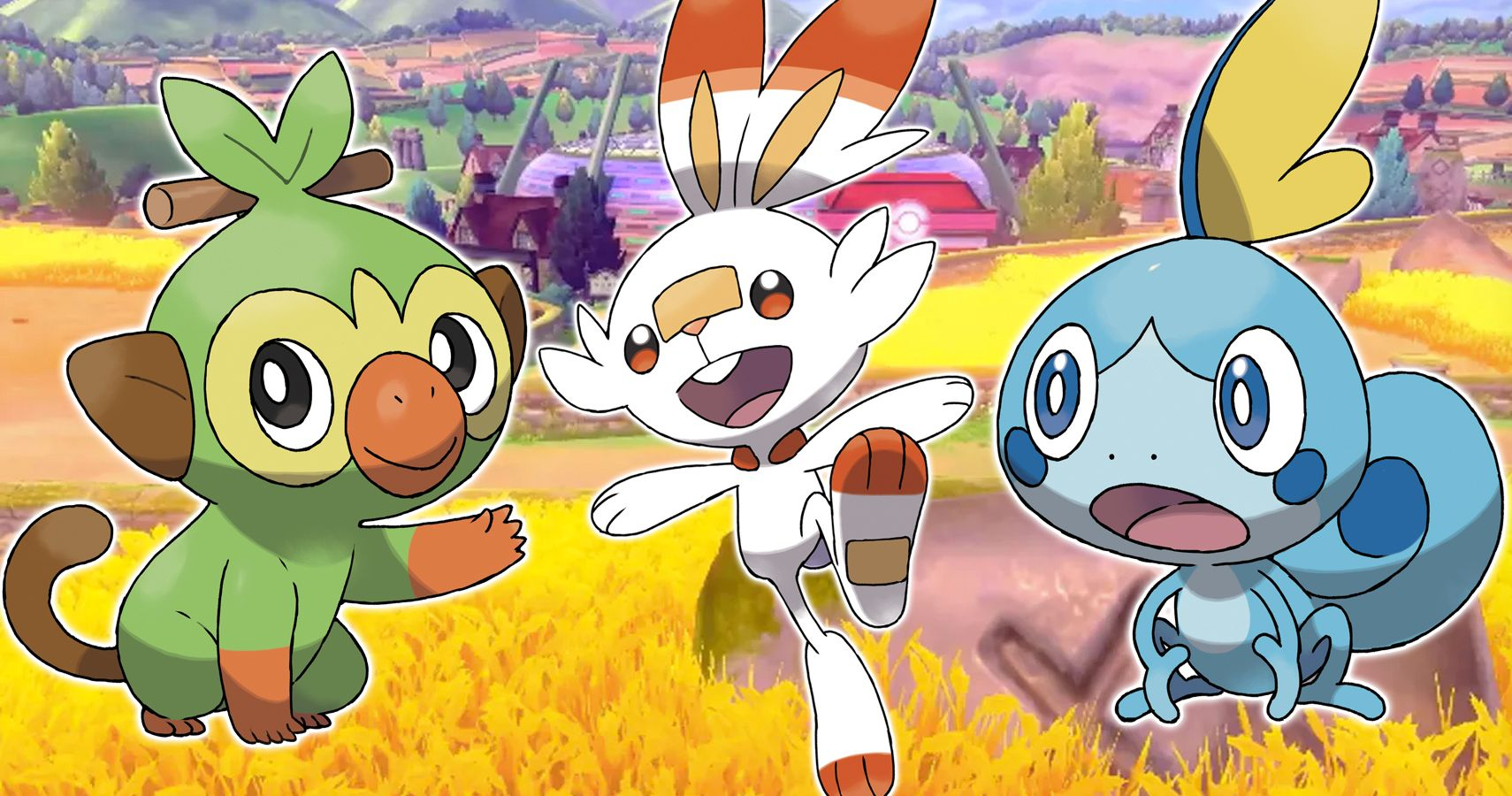 Pokemon Sword Shield What Secondary Types Will The Starters