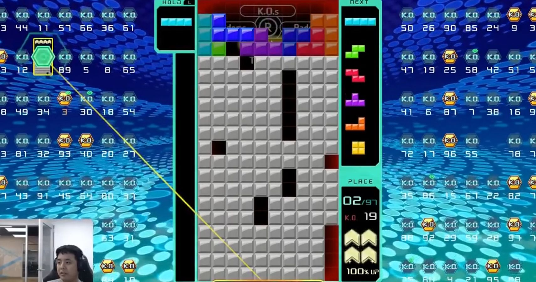 Watch: Tetris 99 Streamer Returns From The Brink Of Death