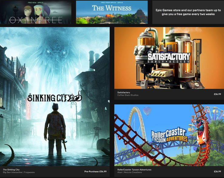 """Epic Games Store Wants To Avoid """"Crappy Games,"""" Says Tim Sweeney"""