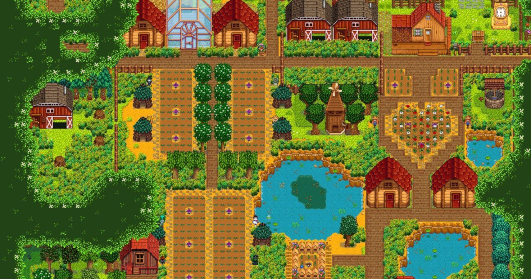 8 Best Stardew Valley Farm Layouts | TheGamer