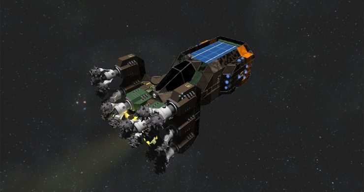 Space Engineers 10 Tips On How To Use Thrusters Thegamer