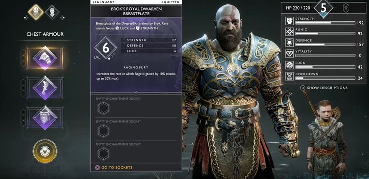 The 10 Best Armor Sets In God Of War PS4 | TheGamer