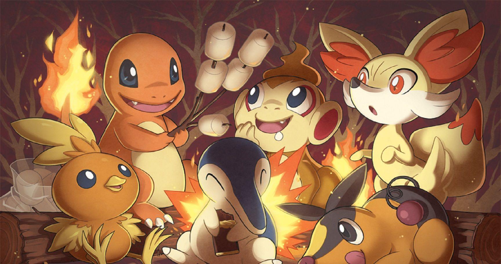 Pokémon Every Fire Type Starter Ranked Thegamer