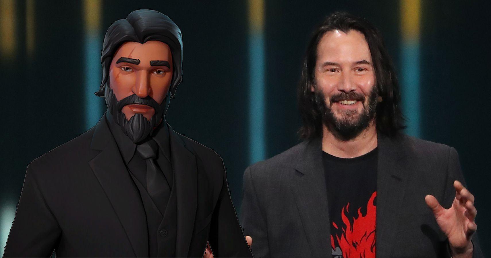 Keanu Reeves Fortnite