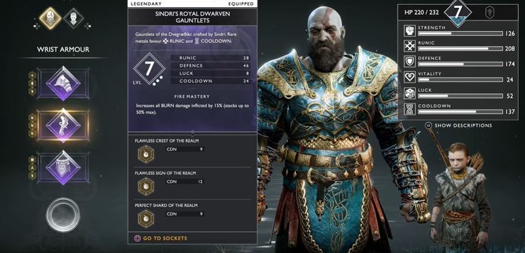 The 10 Best Armor Sets In God Of War Ps4 Thegamer