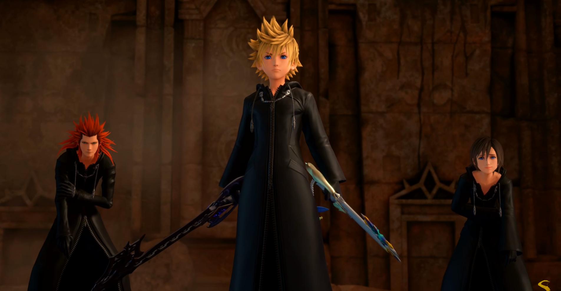 Kingdom Hearts 3 DLC Trailer Confirms Dual-Keyblade-Wielding Roxas