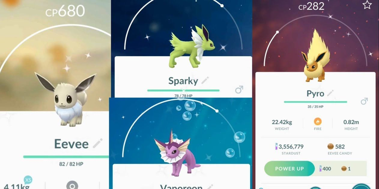 Image result for shiny eevee in pokemon go