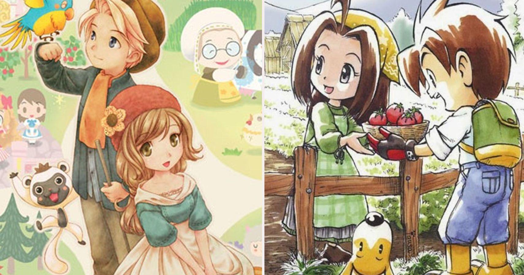 Ranked: 10 Best Harvest Moon Games Ever Made | TheGamer
