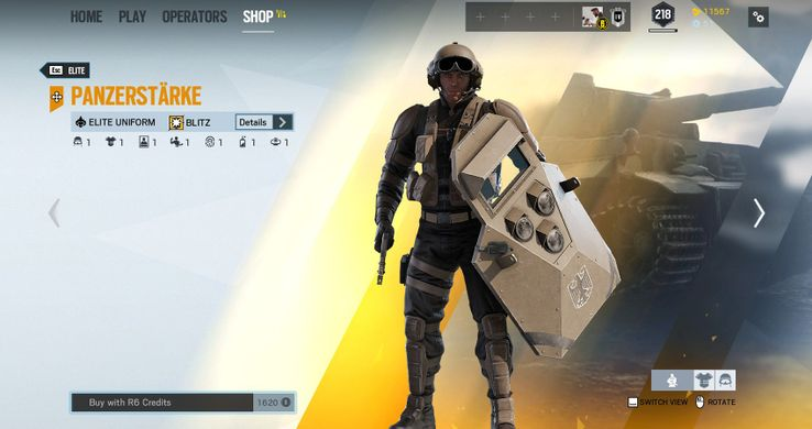Rainbow Six Siege: The 10 Best Skins For Attacking Operators