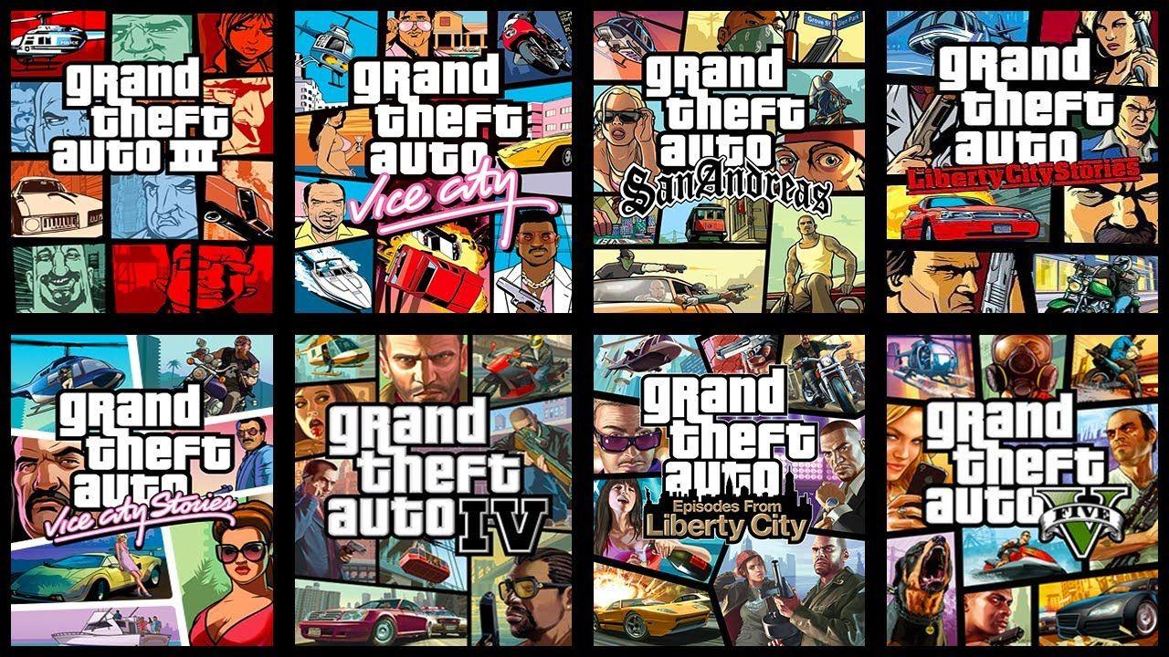 gta ranked best games