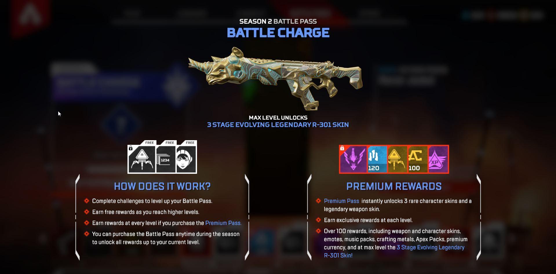 apex legends account level battlepass level legen