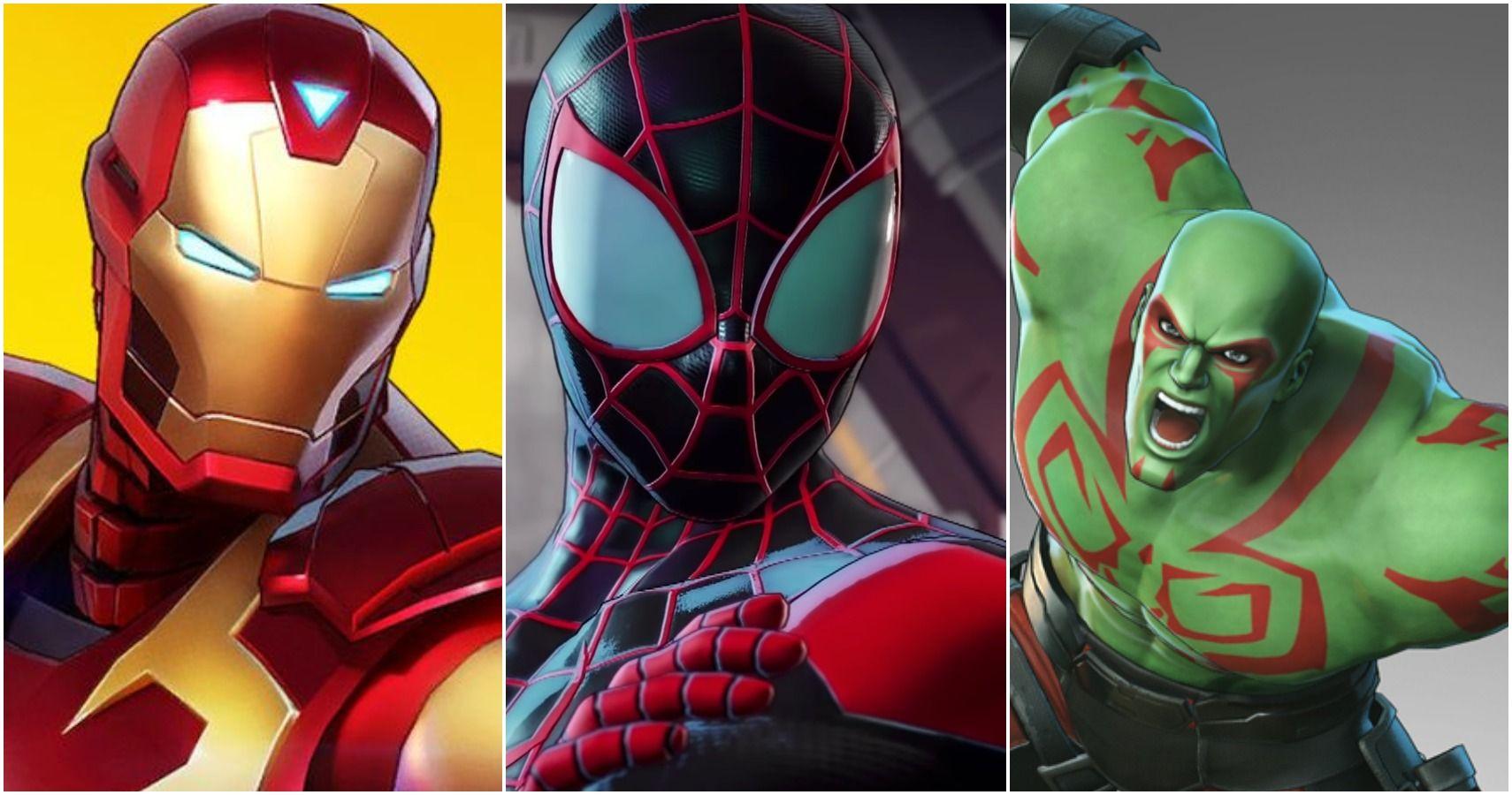 The 10 Weakest Heroes In Marvel Ultimate Alliance 3, Ranked