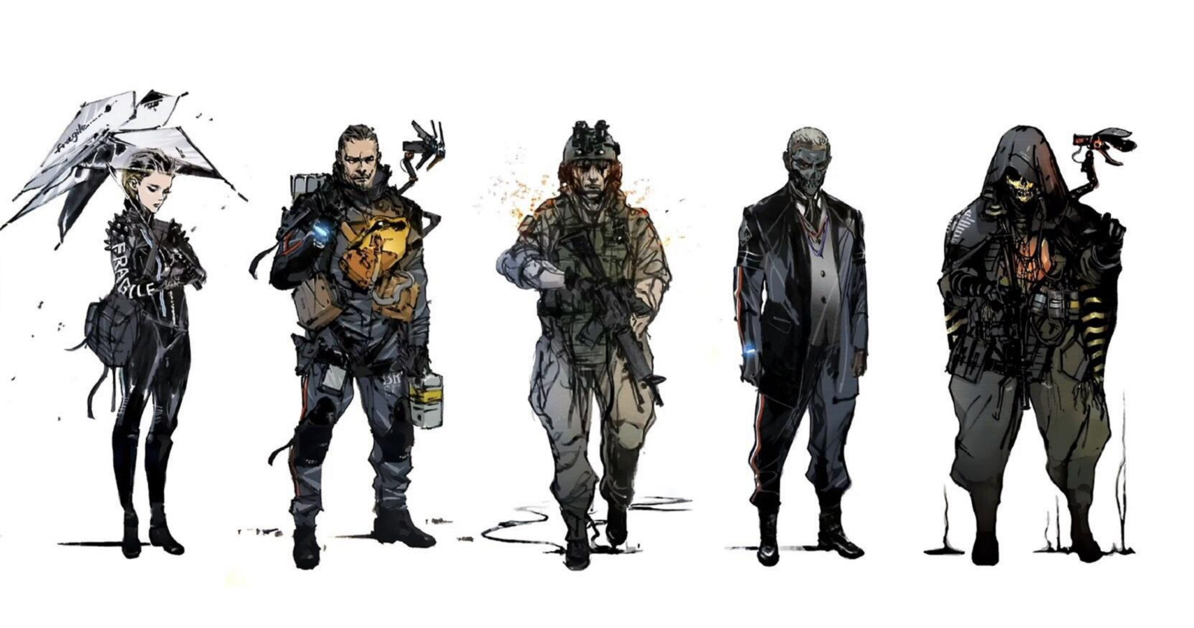 Death Stranding Art Book Shows Concepts For Norman Reedus