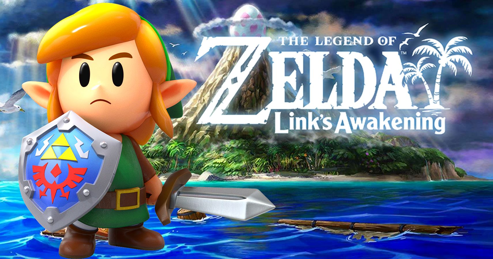 Where Link Is Sailing To At The Start Of Link's Awakening