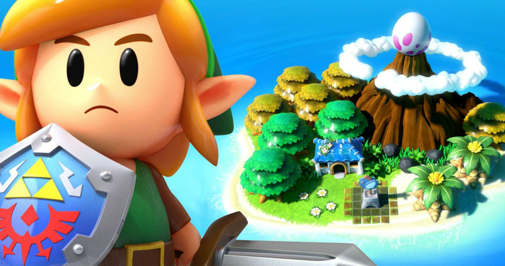 Link S Awakening S Art Style Is Incredibly Good Actually