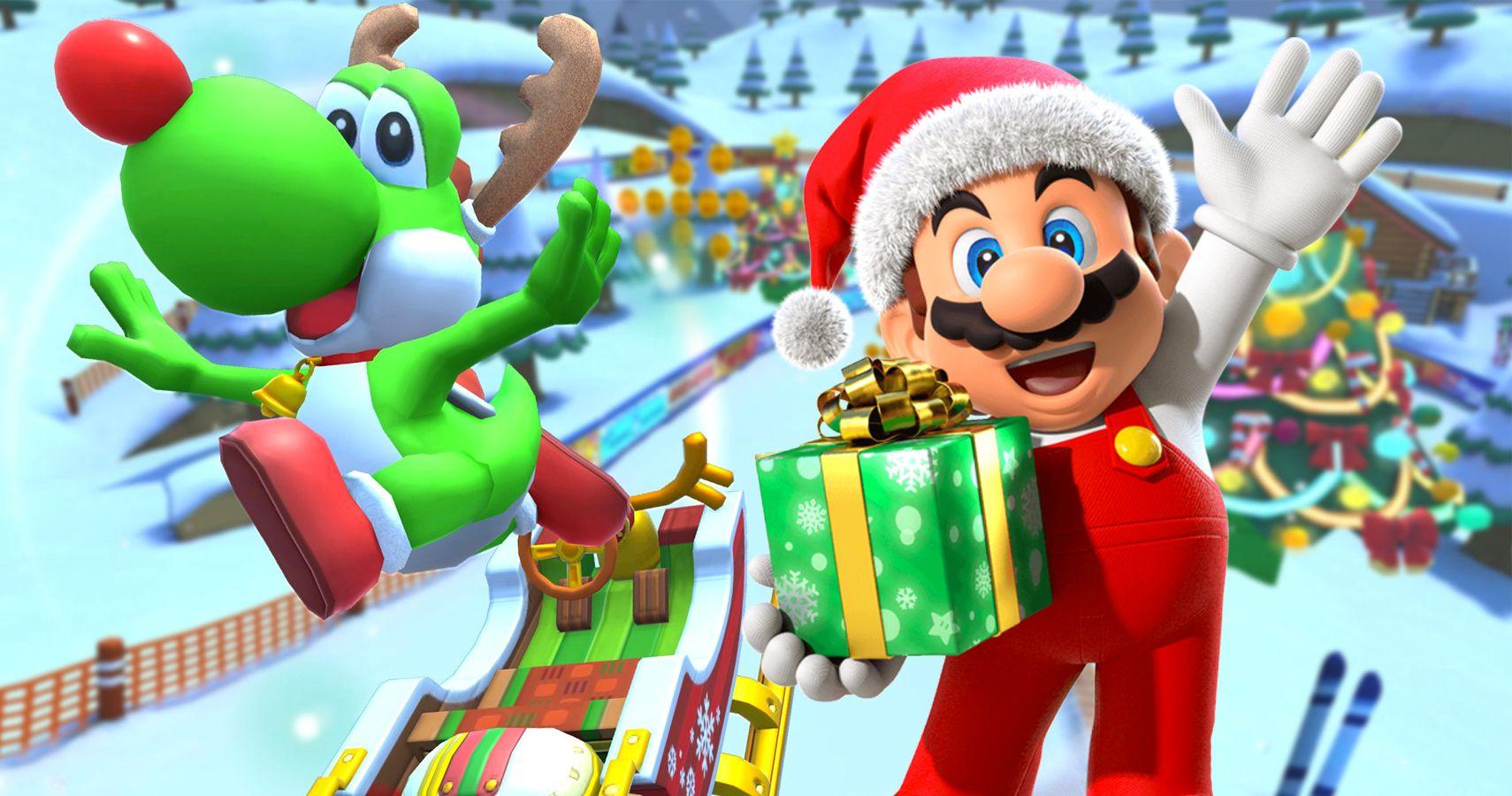 Mario Kart Tour Holiday Tour Guide Thegamer