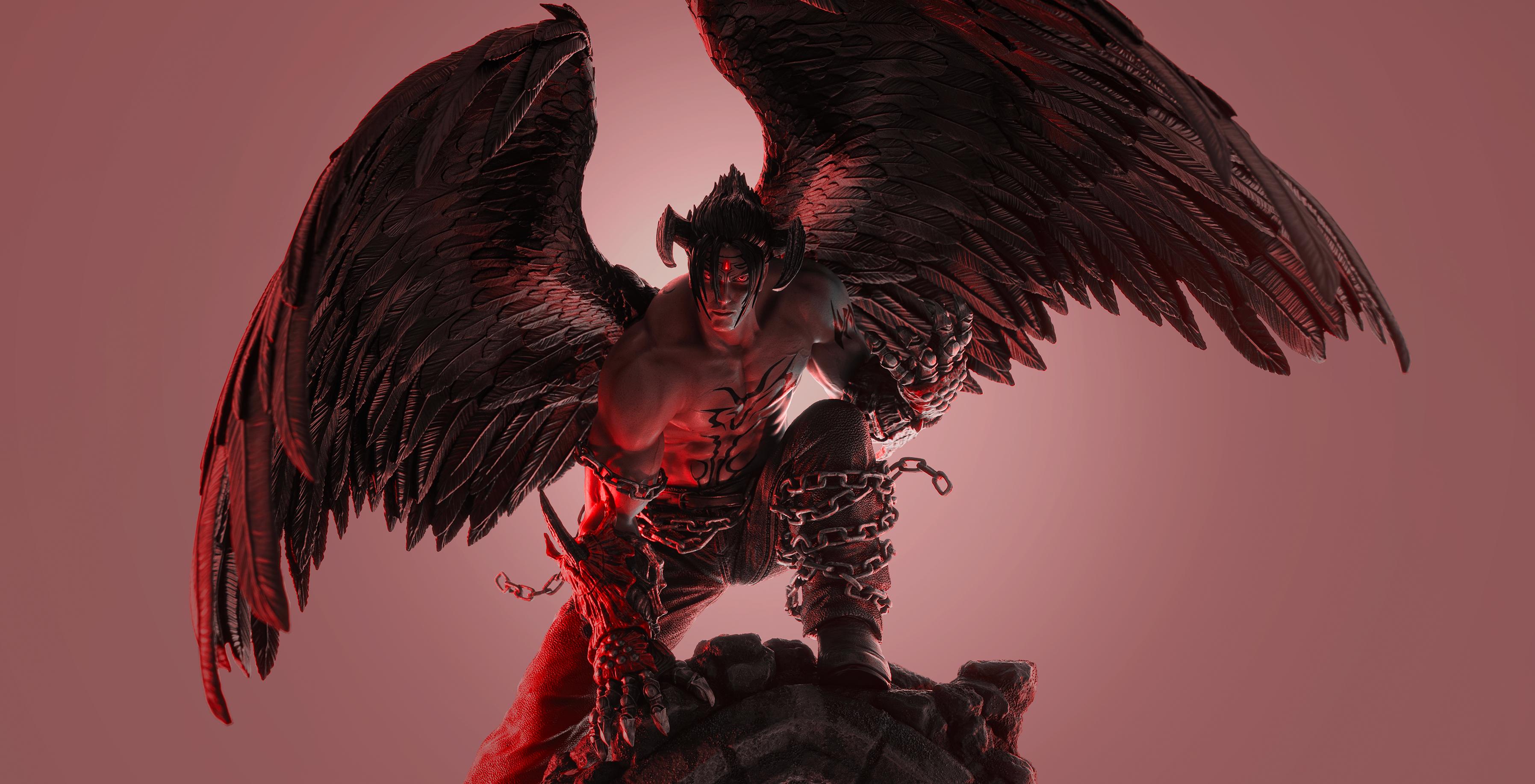 Win This Amazing Tekken 7 Pure Arts Devil Jin Statue Thegamer