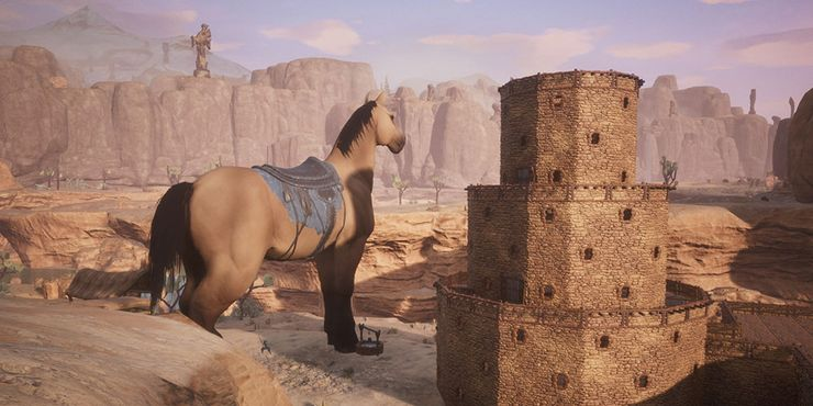 conan exiles horse speed