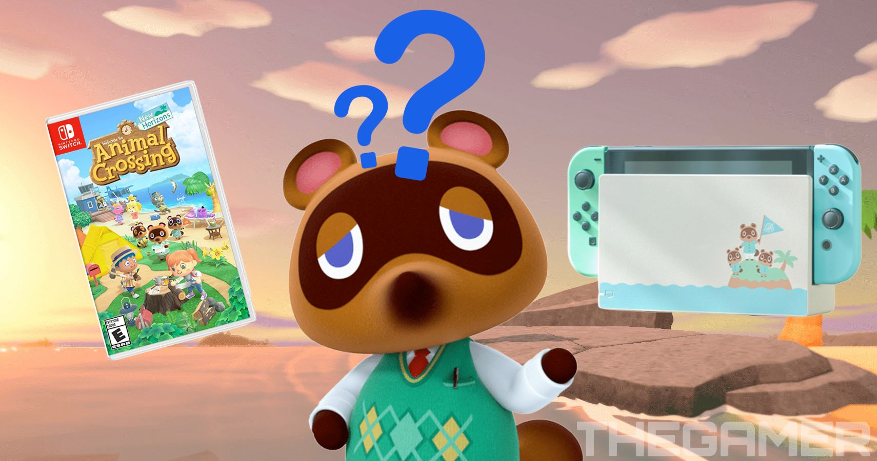Animal Crossing New Horizons Does The Limited Edition Switch