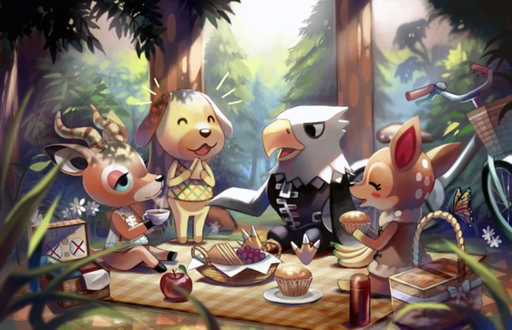 10 Of The Coolest And Quirkiest Animal Crossing Fan Art