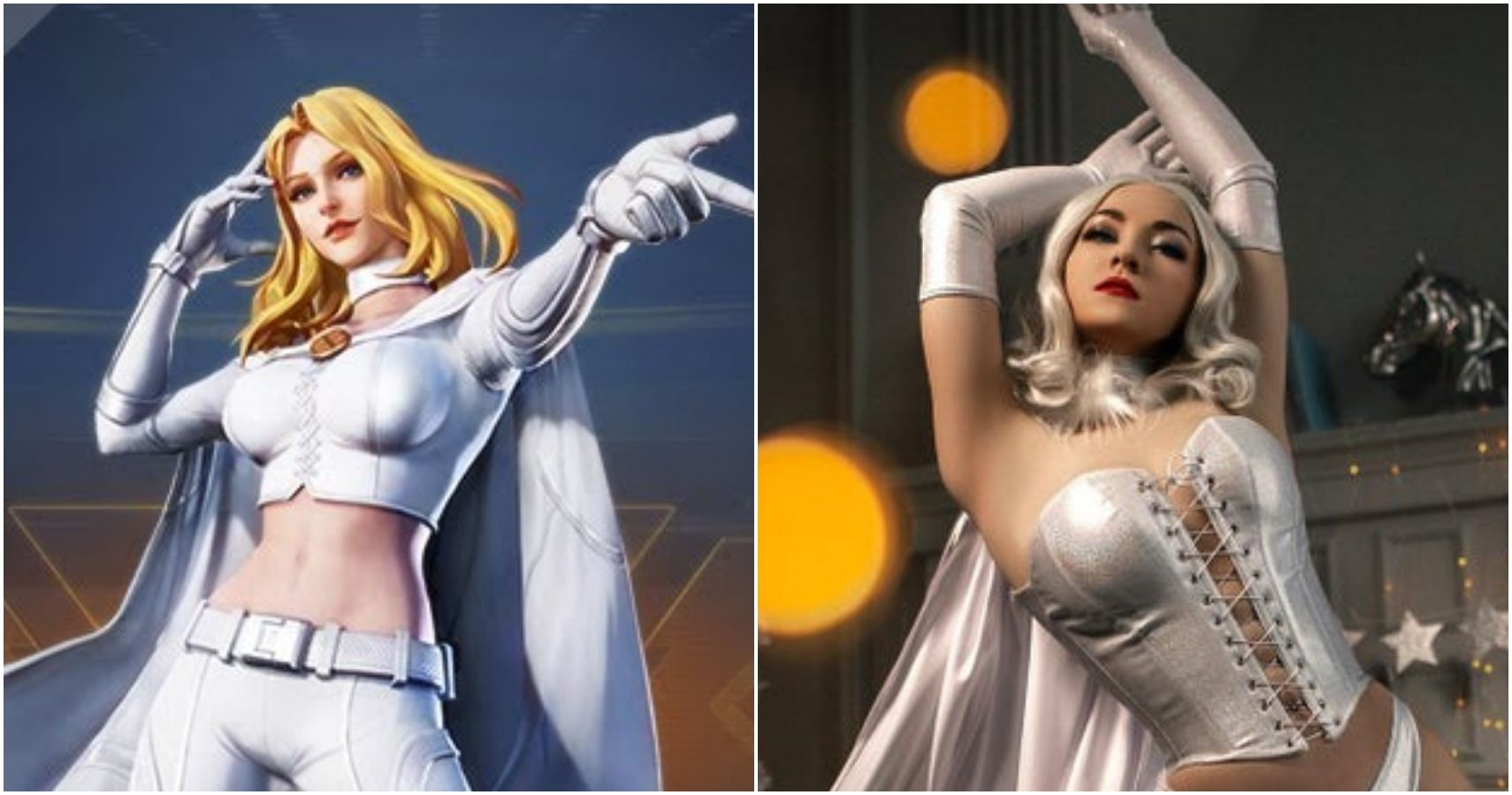 Marvel 10 Emma Frost Cosplay That Are Just Too Good Thegamer