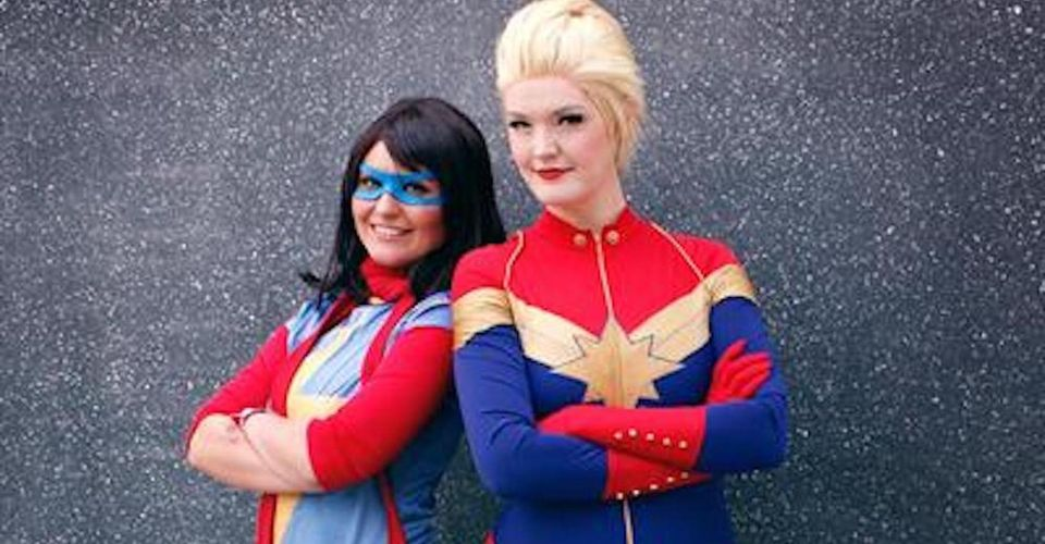 Marvel S Avengers 10 Ms Marvel Cosplay That Will Have You Fist Pumping She's one of the strongest heroes in the mcu and now you to can become carol danvers aka captain marvel when you suit up with the captain marvel deluxe womens costume. ms marvel cosplay