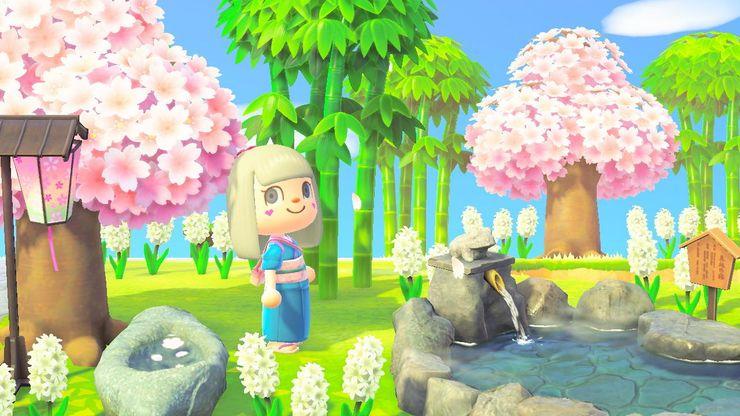 Garden Ideas Animal Crossing
