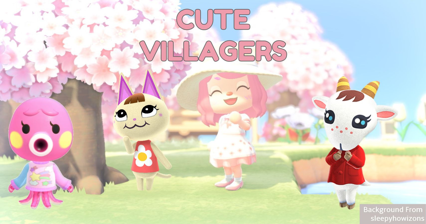 animal crossing villagers cute