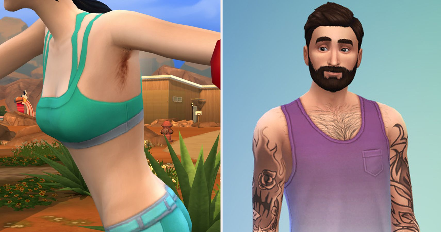 Sims 4 10 Must Have Body Hair Cc For Realistic Sims Thegamer
