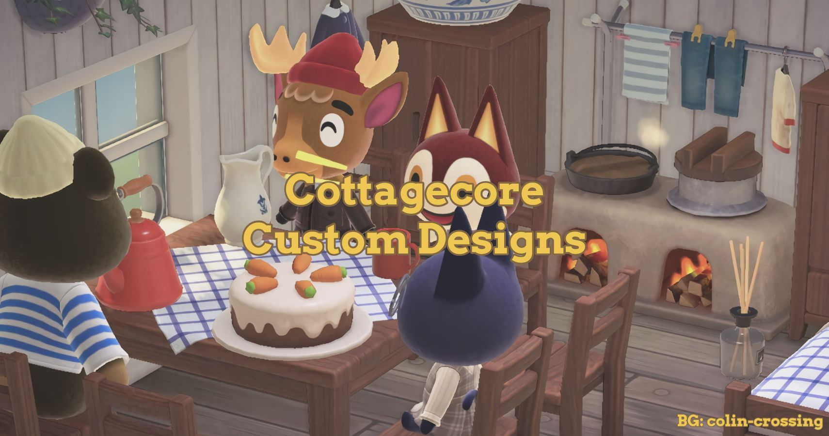 Cottagecore Custom Design Outfits For Animal Crossing New Horizons