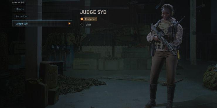 Syd Operator Warzone