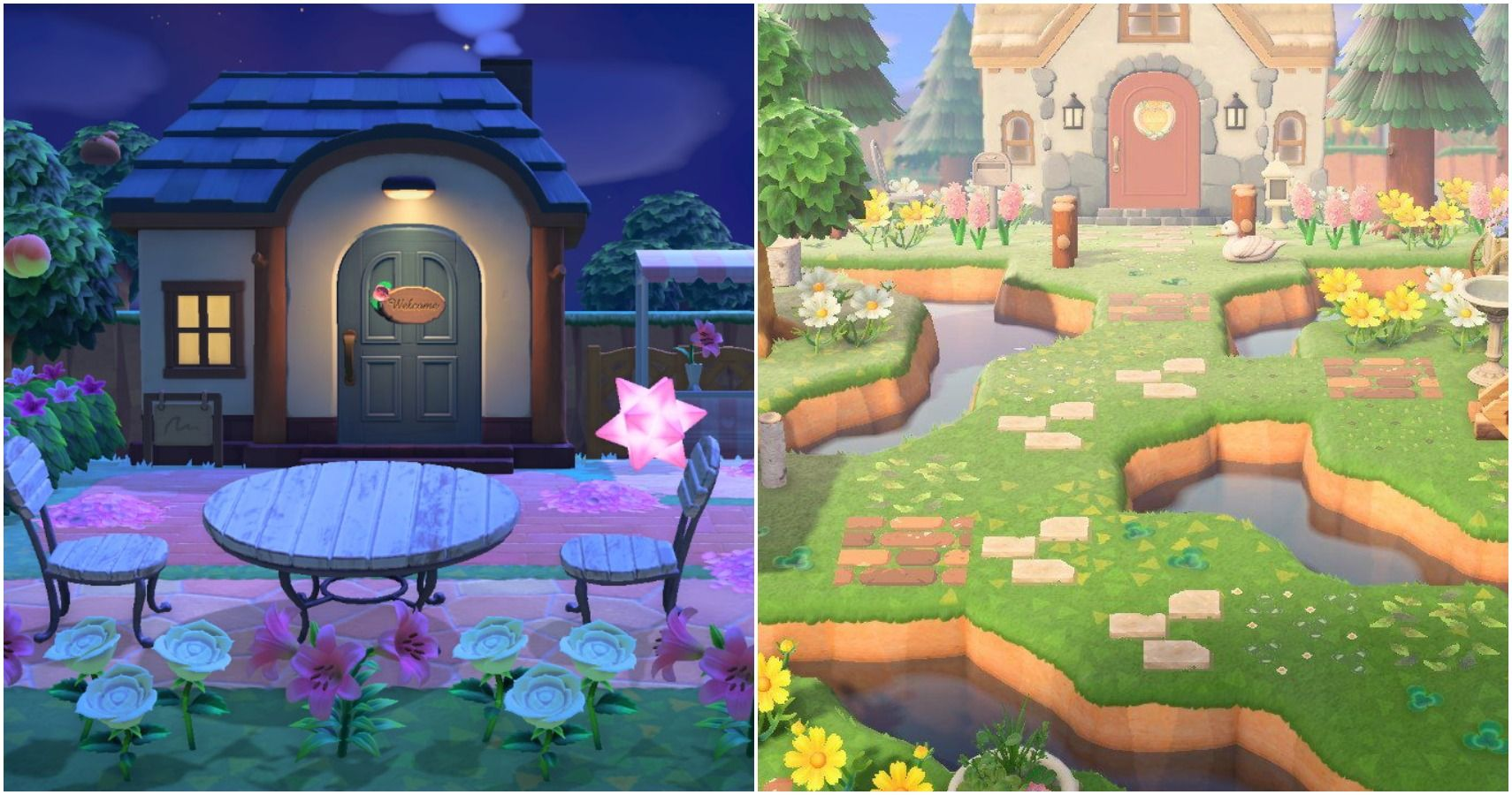 Animal Crossing 10 Beautiful Yards Created For Villagers