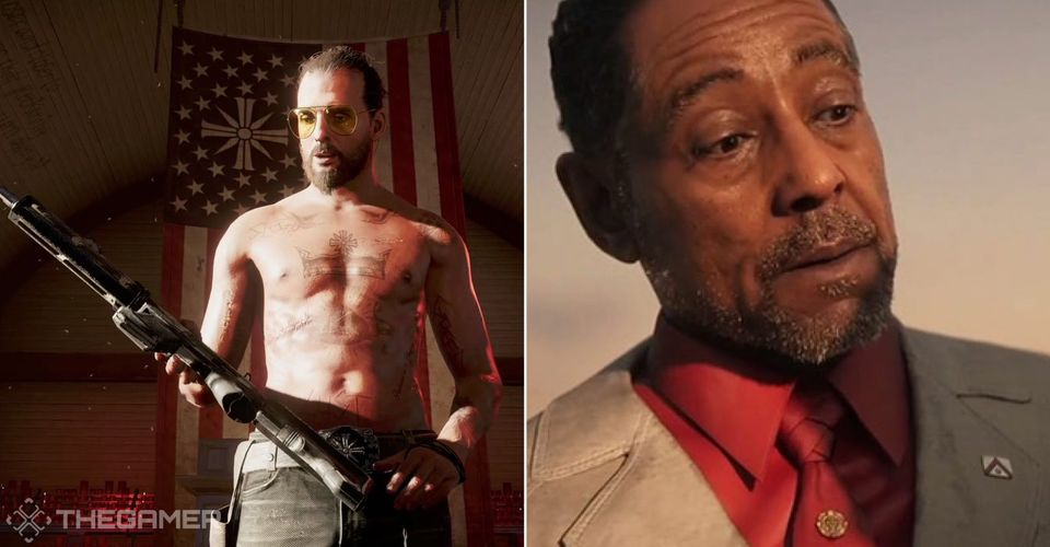 Gaming Detail The Unusual Connection Between Far Cry 5 6 S Villains